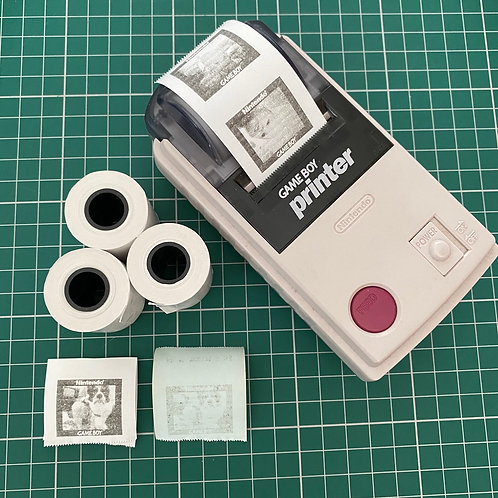 Gameboy Printer Paper - 3 New Thermal Rolls