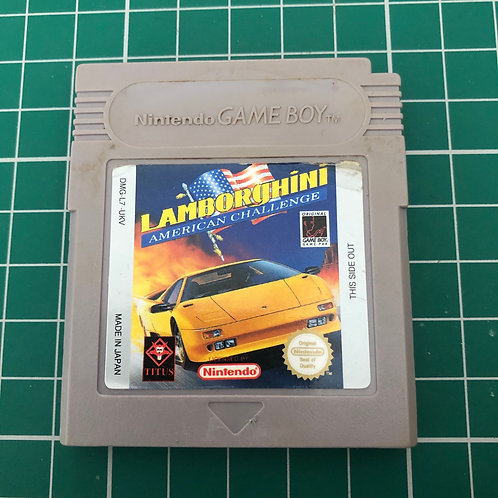 Lamborghini American Challenge - Original Gameboy
