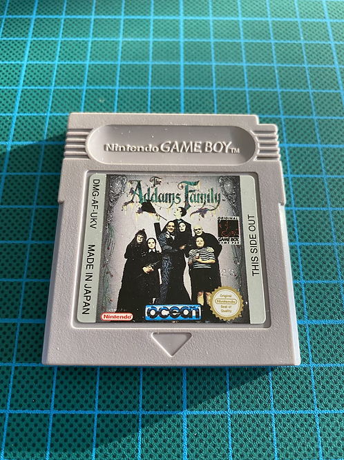 The Addams Family - Original Gameboy