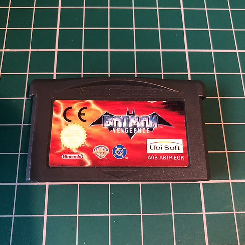 Batman Vengeance - Gameboy Advance