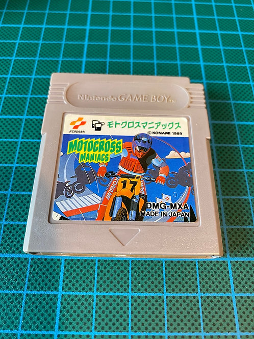 Motocross Maniacs - Japanese Original Gameboy