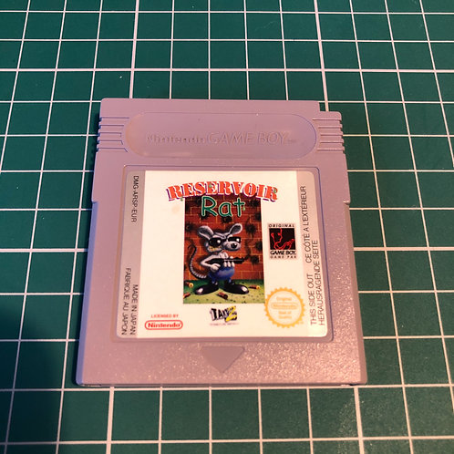 Reservoir Rat - Original Gameboy