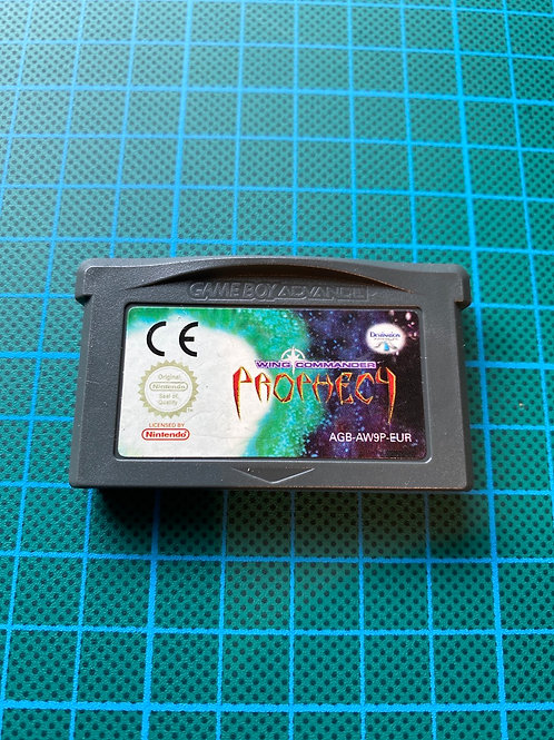 Wing Commander Prophecy - Gameboy Advance