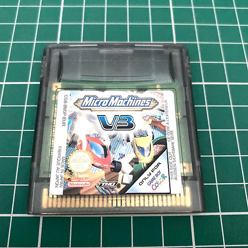 Micro Machines V3 - Gameboy Colour