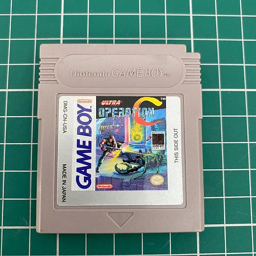 Operation C - Original Gameboy