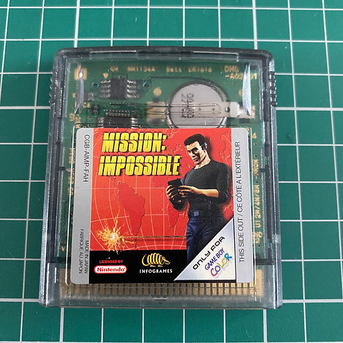 Mission impossible - Gameboy Colour