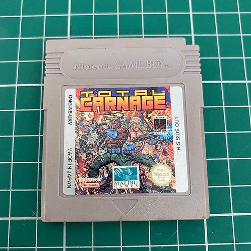 Total Carnage - Original Gameboy