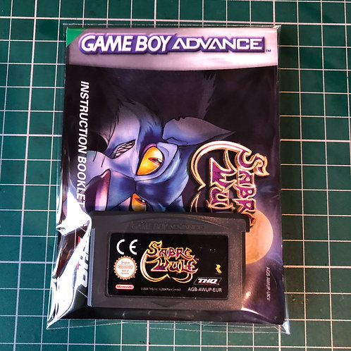 Sabre Wolf - Gameboy Advance