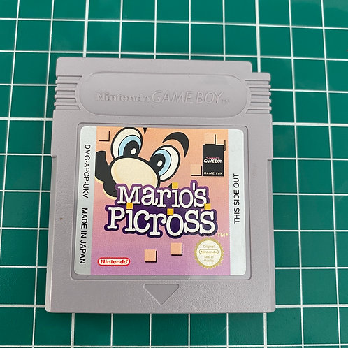 Mario's Picross - Original Gameboy