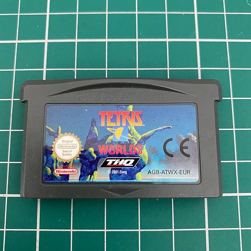 Tetris Worlds - Gameboy Advance
