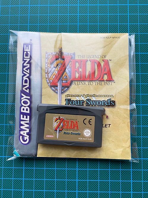 Zelda A Link To The Past + Four Swords - Gameboy Advance