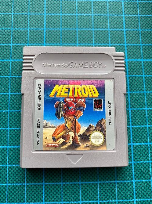 Metroid II - Original Gameboy