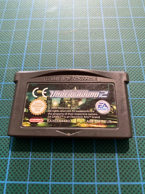 Need for Speed Underground 2 - Gameboy Advance