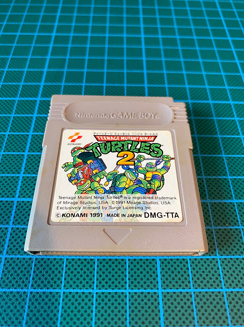 Teenage Mutant Ninja Turtles 2 - Japanese Original Gameboy