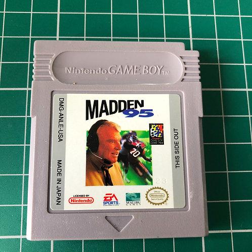 Madden 95 - Original Gameboy