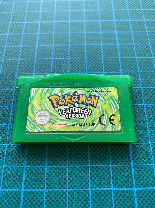 Pokemon Leaf Green - Gameboy Advance