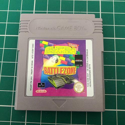 Arcade Classics - Super Breakout & Battlezone - Original Gameboy