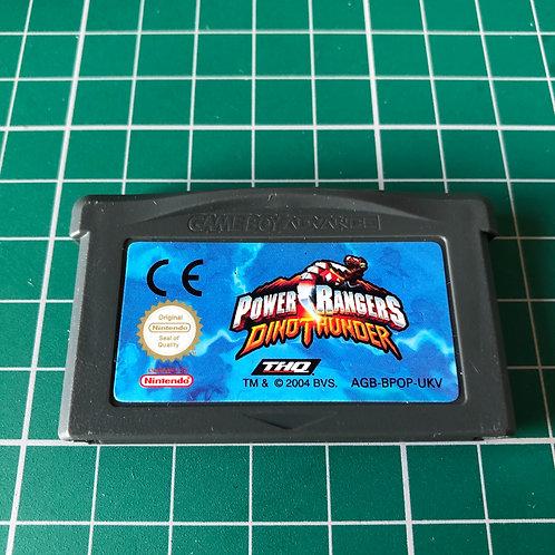 Power Rangers Dino Thunder - Gameboy Advance