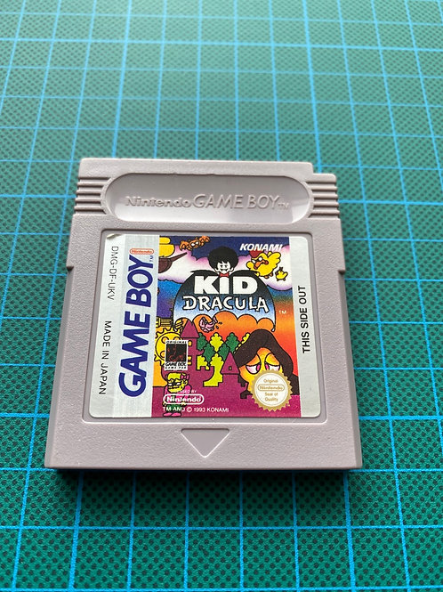 Kid Dracula - Original Gameboy