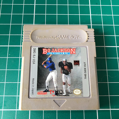 Bo Jackson Two games in One - Original Gameboy