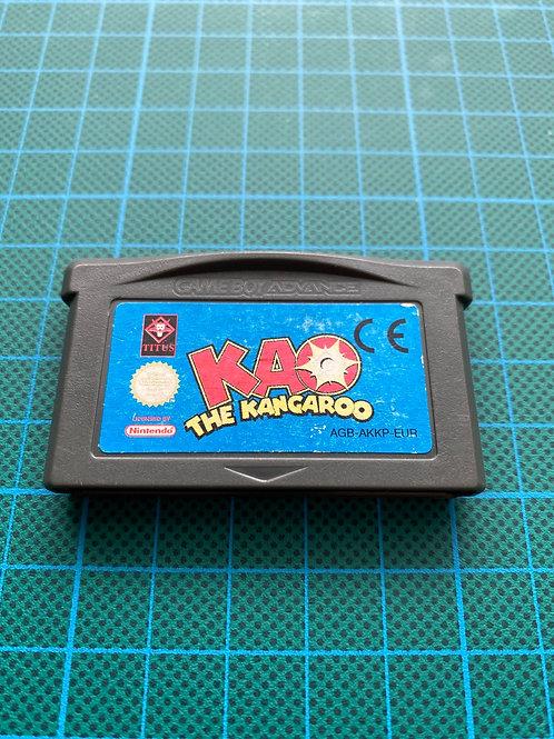 KAO The Kangaroo - Gameboy Advance