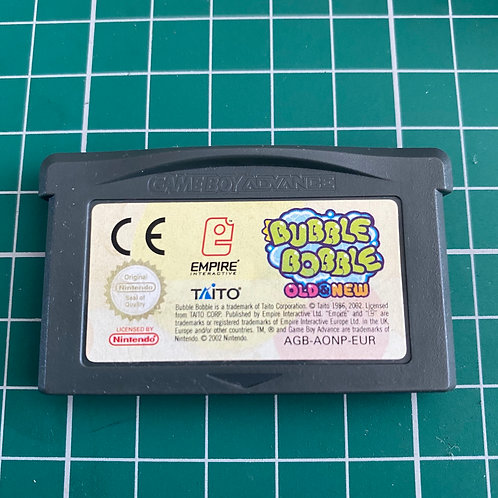 Bubble Bobble Old & New - Gameboy Advance