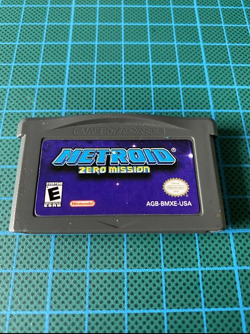 Metroid Zero Mission - Gameboy Advance