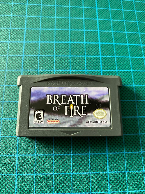 Breath of Fire - Gameboy Advance