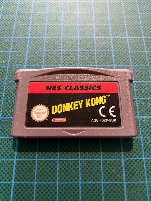 Donkey Kong Nes Classics - Gameboy Advance