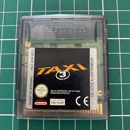 Taxi 3 (French Exclusive) - Gameboy Colour