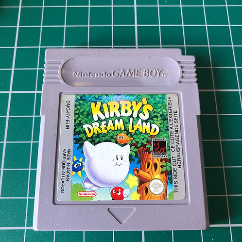 Kirby's Dreamland - Original Gameboy
