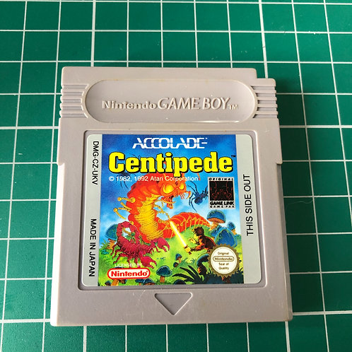 Centipede - Original Gameboy