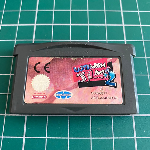 Earthworm Jim 2 - Gameboy Advance