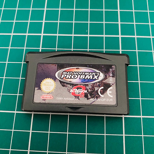 Mat Hoffman's Pro BMX - Gameboy Advance