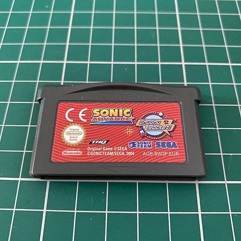 Sonic Advance & Chu Chu Rocket - Gameboy Advance