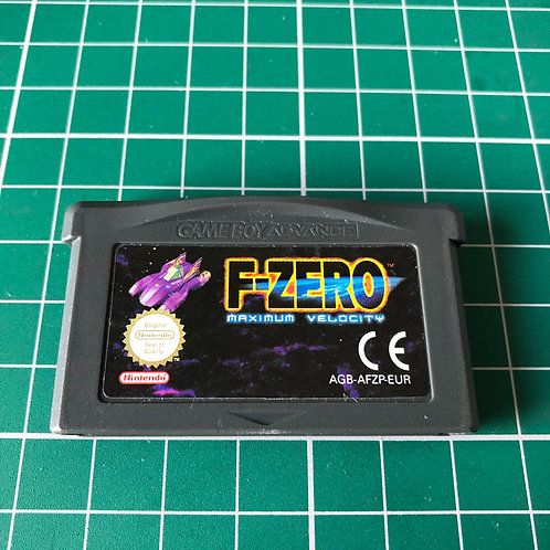 F-Zero Maximum Velocity - Gameboy Advance