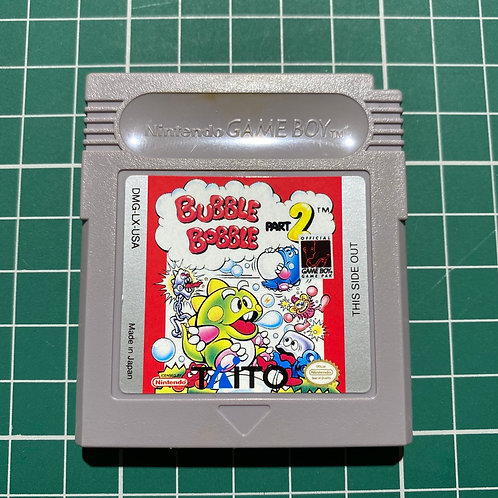 Bubble Bobble Part 2 - Original Gameboy