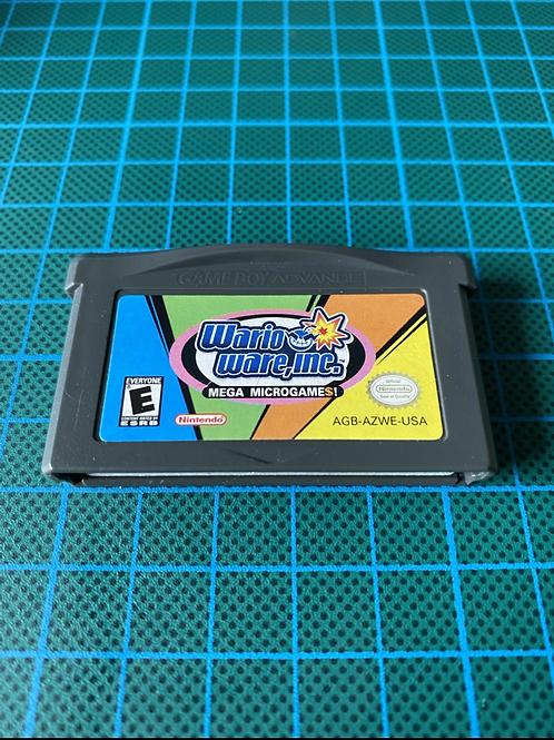 Wario Ware Inc - Gameboy Advance