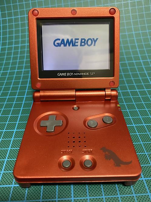 "Gameboy SP - ""Groudon"""
