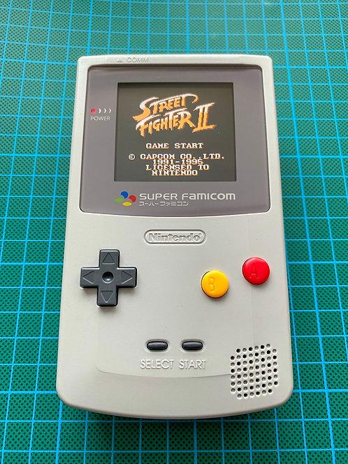 """Backlit IPS V2 Gameboy Colour - """"FamicomBoy Colour"""""""