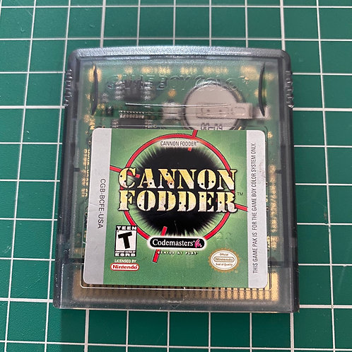 Cannon Fodder - Gameboy Colour