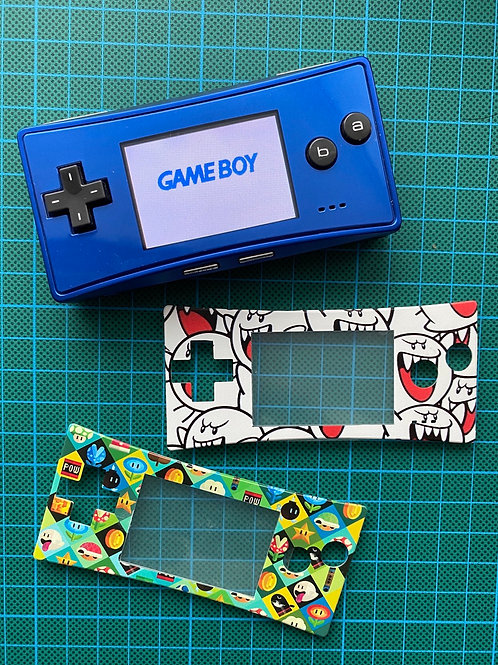 Gameboy Micro Faceplates