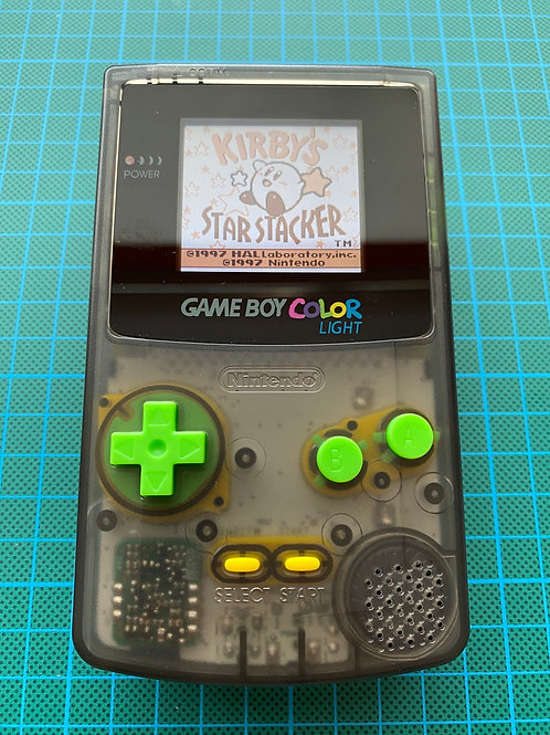 """Backlit TFT Gameboy Colour - """"Smoke Out"""""""
