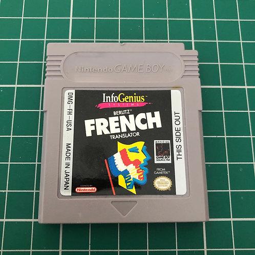 French Translator - Original Gameboy