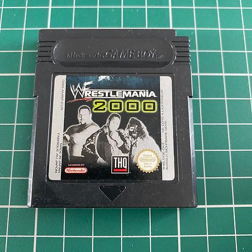 WWF Weestlemania 2000 - Gameboy Colour