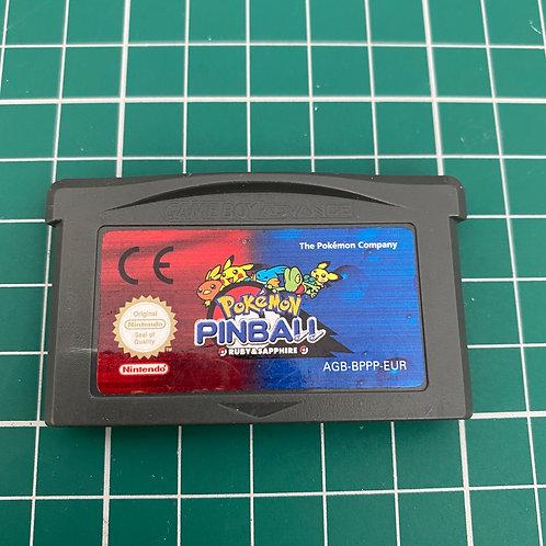 Pokemon Pinball Ruby & Sapphire - Gameboy Advance
