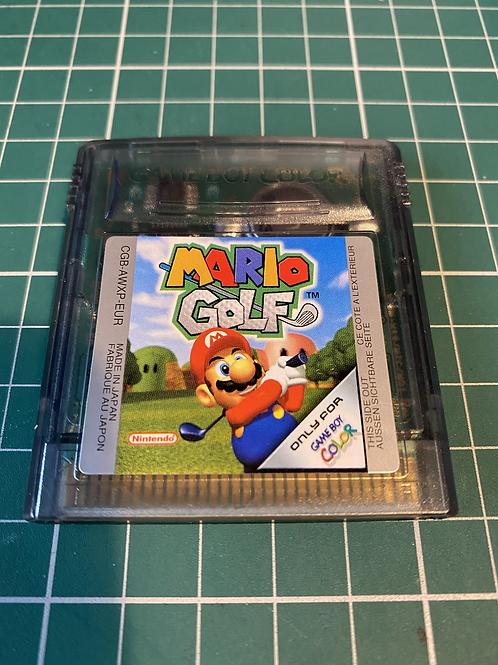 Mario Golf - Gameboy Colour