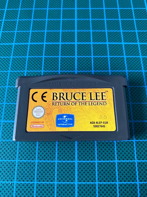 Bruce Lee Return of the Legend - Gameboy Advance