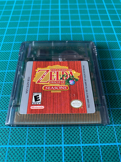 Zelda Oracle of Seasons - Gameboy Colour