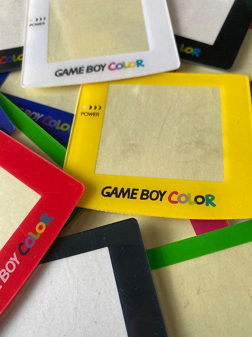 Gameboy Colour Screens - Plastic